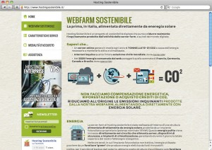 Hosting Sostenibile - webfarm